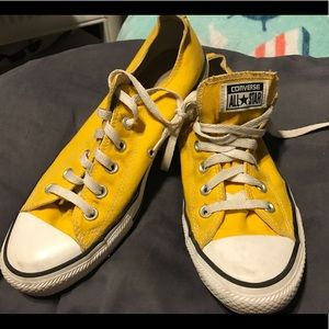 Yellow All Star Converse